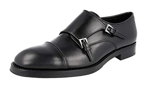 Prada Herren Schwarz Leder Business Schuhe 2OA017 43 EU/UK 9
