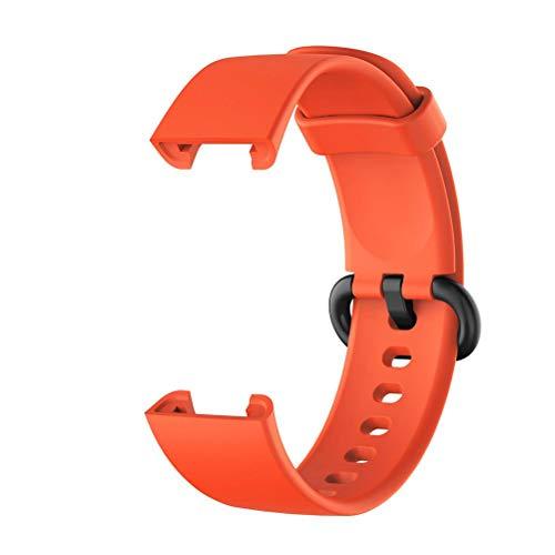 Correa de reloj compatible con Xiaomi Mi Watch Lite/Redmi Watch Lite Smart Watch Correa de silicona de repuesto