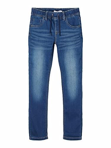 NAME IT Boy Jeans Sweatdenim Regular Fit 134Dark Blue Denim