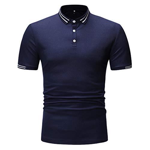 Xmiral T-Shirt Polo Uomo Maglietta A Maniche Corte di Tennis Polo A Manica Corta Uomo Polo Uomo - Tennis Maglia Polo Keep Dry Manica Corta Polo XS Marina Militare