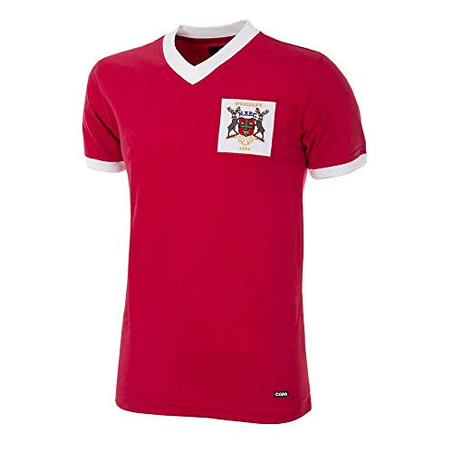 Copa Nottingham Forest Retro Trikot Cup Final 1959 rot, M