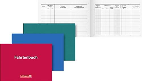 Brunnen Fahrtenbuch (10er Vorteilspack, A6 Softcover)