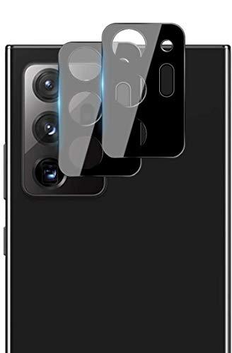 QULLOO Cámara Trasera Lente para Samsung Galaxy Note 20 Ultra, Protector Cámara [Alta definición] [9H de Dureza] Cristal Templado para Samsung Galaxy Note 20 Ultra (2 Piezas)