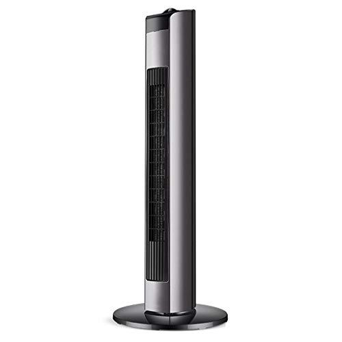 Unbekannt Konvektor Heizung Heizkörper Upright Heizlüfter mit 3 Heizstufen/Kühlen Blasgebläse/Variabel Thermostat/Frost-Uhr- / Überhitzungsschutz/GS geprüfte Sicherheit (Color : Black, Size : 110CM)