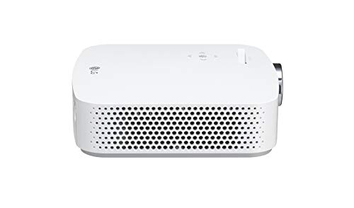 """LG CineBeam PF50KS - Proyector TV con SmartTV webOS 3.5 y batería integrada (hasta 100"""", autonomía 2,5 horas, fuente LED, 600 lúmenes, 1920 X 1080) Color Blanco miniatura"""