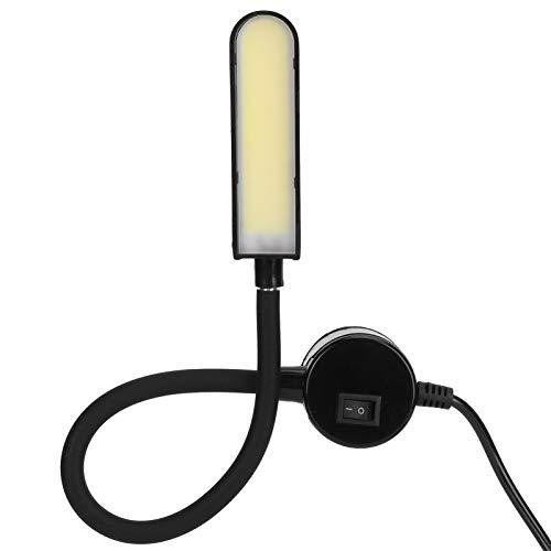 Lámpara de trabajo COB, base magnética, luz de coser, tamaño compacto, 6 W, máquina de coser, ahorro de energía, alto brillo, amplia aplicación para fábricas, dormitorios