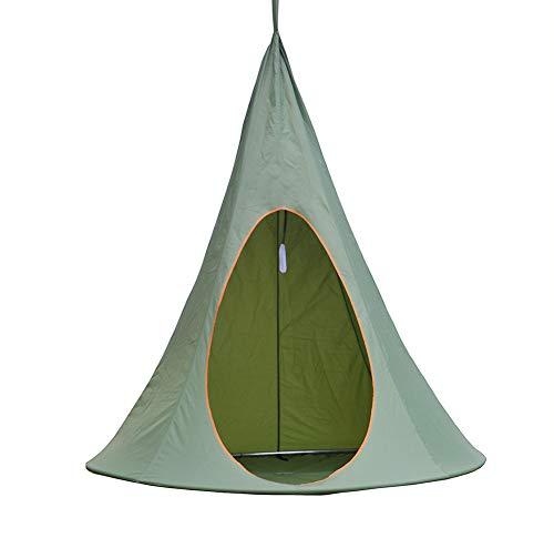 CCISS Baumhaus Hängendes Baumzelt Hängendes Zelt Hängematte Aufzüge Draussen Freizeit Großer Raum Umweltschutz Sicherheit Camping Zelt