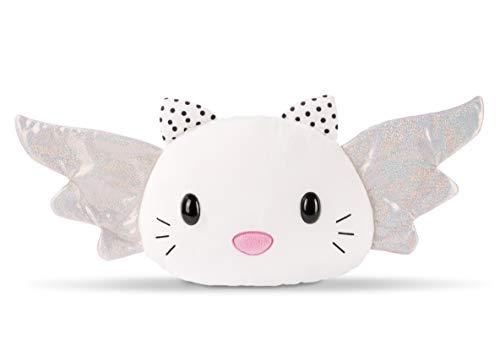 NICI 46049 Figürliches Schutzkätzchen Kissen, Plüsch, mit Flügeln