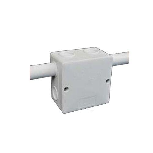 5x Kopos Abzweigdose IP66 Abzweigkasten KSK80 81x81x50mm für Feuchträume hellgrau