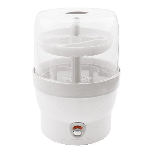 H+H BS 29w Babyflaschen – Sterilisator für 6 Flaschen in weiß - 2
