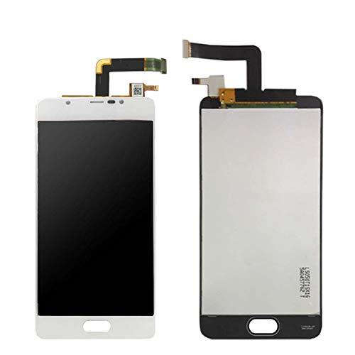 Pantallas LCD para teléfonos móviles Pantalla táctil Digitalizador LCD/FIT para WIKO U Sentir Ufeel LDE LCD Pantalla con ensamblaje de Pantalla táctil (Color : U Feel Prime White)