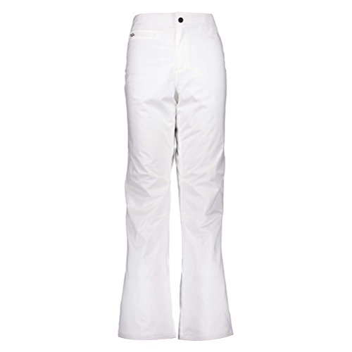 Obermeyer Womens Sugarbush Stretch Pant, White, 4