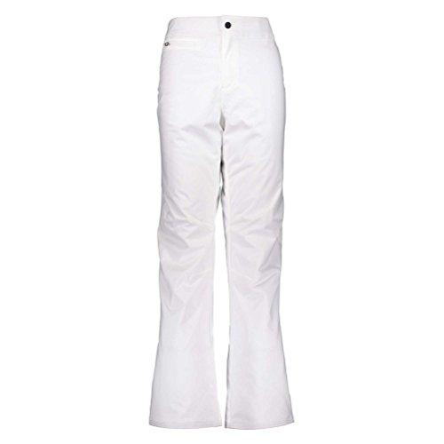 Obermeyer Womens Sugarbush Stretch Pant, White, 6