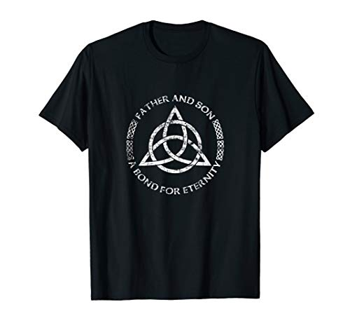 Celtic Knot Father and Son A Bond For Eternity T-Shirt