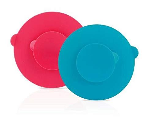 Nûby ID5584 Saugfuß für Breischälchen und Teller, mehrfarbig