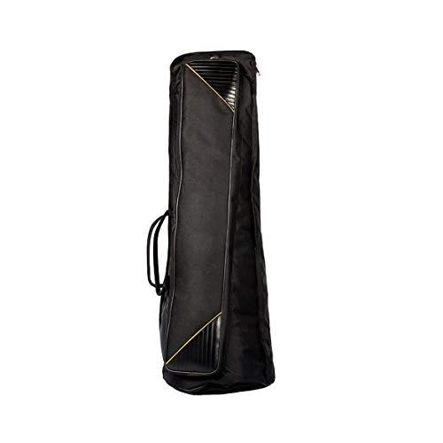 Kongqiabona Durable Oxford Fabric Tenor Trombone Gig Bag Carry Bag Shoulder Bag Musical Instrument Case Accessory
