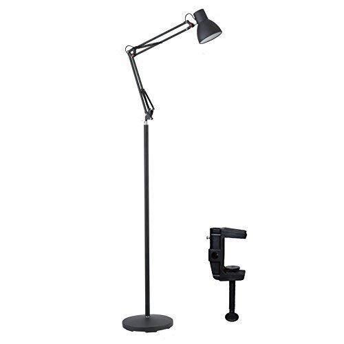 CLJ-LJ Led Salón Dormitorio lámpara de pie, Estudio Piano Creativa del Clip Luces Lámparas de pie Eye-Cuidado Vertical luz del Piso