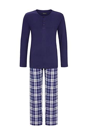 Ringella Herren Pyjama mit kurzer Knopfleiste Alaska 54 0541223, Alaska, 54
