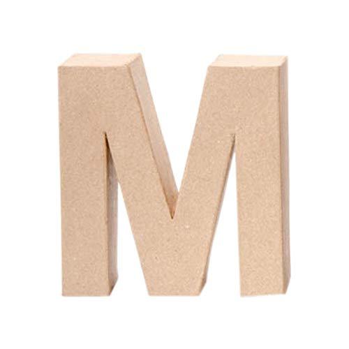 Creative Discount® Papp-Buchstabe M, 17,5x5,5cm