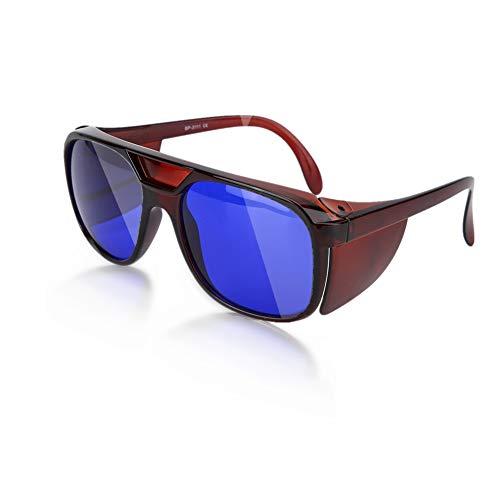 Gafas Protección Contra Rayos Uv, Gafas Protección Contra Rayos Láser Gafas de Seguridad Anti Rayos Infrarrojos Para La Vista, Antirreflejo, Protección Contra Los Rayos Ultravioleta