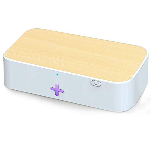 ACMETOP UV-Desinfektionsgerät für Mobiltelefone, Multifunktions-Sterilisator-Reinigungsbox für UV-Lichttelefone für Mobiltelefone, Tastaturen, Spielzeug, Make-up-Pinsel