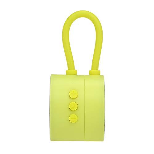 qiyanE3 Tragbare Mini-Bluetooth-Lautsprecher Kreative Natur Lautsprecher Magnetic Soundbox Bluetooth 5.0 Lautsprecher Für tragbare Sport-Lautsprecher Grün