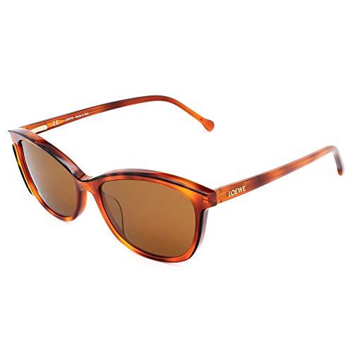Loewe SLWA06M530ADP Gafas, DARK HAVANA+LIGHT HAVANA, 53x18x140 para Mujer