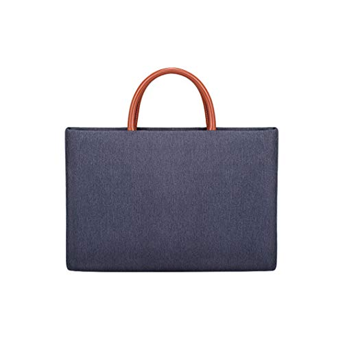 Men's and Women's Business Laptop Bag, Multi-function Card Multi-function Briefcase, Breathable and Waterproof Shiris Material-nylon Lining, 42cm * 29.5cm * 3.0cm grey