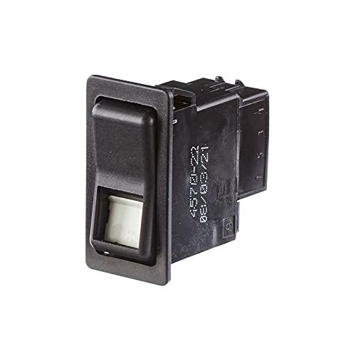 HELLA 6GM 004 570-221 Interruptor - Accionamiento por tecla basculante - Var. equipamiento: I->0<-II - Número de conexiones: 8
