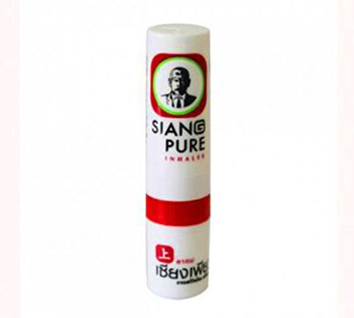 Siang Pure Nasal Inhaler for Relief of Vertigo Natural Herbal Net Vol 2 cc X 6 Bottles by Siang Pure Oil