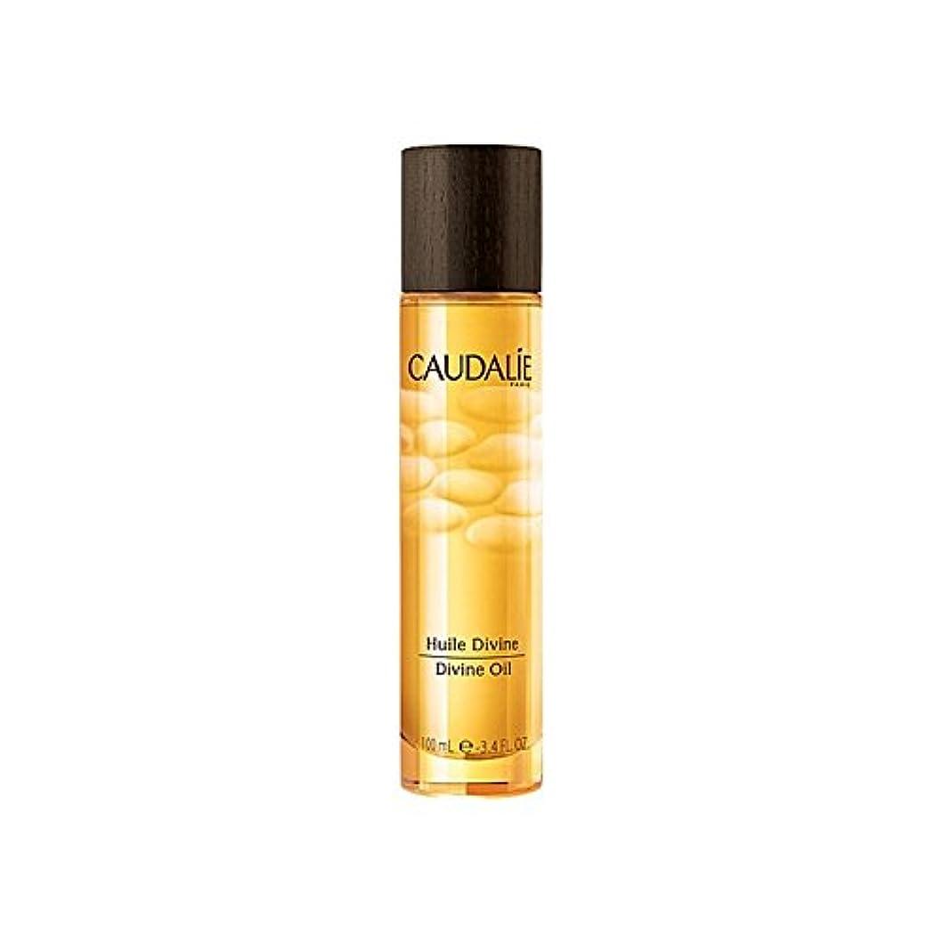 布シンプルな閉塞Caudalie Divine Oil 100ml (Pack of 6) - コーダリー神のオイル100ミリリットル x6 [並行輸入品]