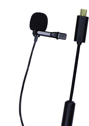 Dörr LV-10 laveliermicrofoon (mono elektrische condensatormicrofoon, kogelkarakteristiek (omnidirectioneel))