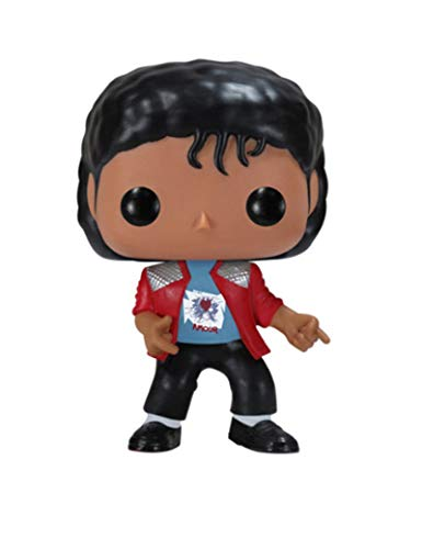 WangMaZi Funko Pop Michael Jackson Celebridad Muñeca Figura Muñeca Juguete Adornos Colección