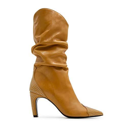 ALDO Luxury Fashion Castagna Damen 118GIUSY10OCRA Beige Stiefel   Jahreszeit Outlet