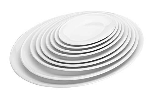 Lacor 62751 - Bandeja oval melamina 207x144x18 mediana