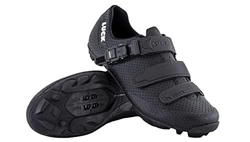 LUCK Zapatillas MTB Cronos   Zapatillas de Ciclismo para Hombre y Mujer...