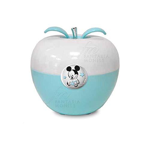 Nachtlampje Disney lichtblauw toepassing Mickey Mouse zilver D327 / C