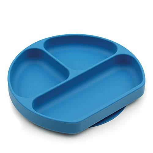 Bumkins GDL-DBU Silicone Grip Drish, blau, GD-DBU