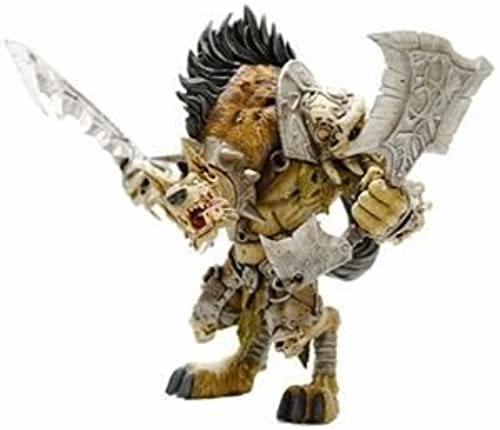 World of Warcraft Series 1  Gnoll Warlord  Gangrau Riverpaw Action Figure by DC Comics