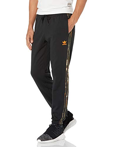 adidas Originals mens Camo Sweatpant Black Small