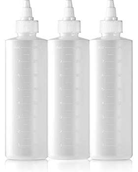 BAR5F Twist Top Applicator Bottle 8 ounce  Pack of 3
