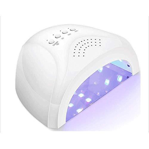 Appareil de photothérapie à ongles Séchoir à ongles - Sécheur UV à ongles LED Light Light avec capteur automatique pour gel à base de gel
