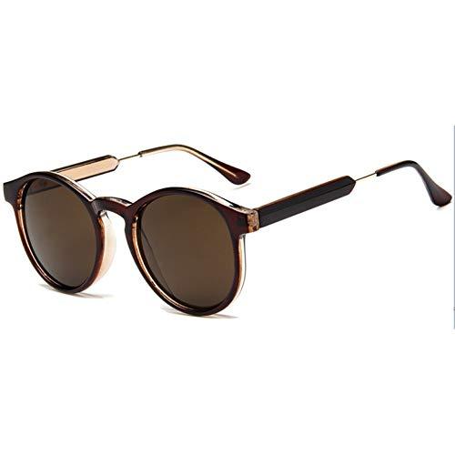 Ronde zonnebril vrouwen rood geel blauw paars heldere lens zonnebril voor vrouwen kleine zonnebril