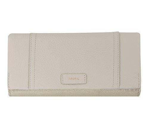 Fossil Geldbörse ELLIS 29 CLUTCH Creme Gold SL7604-751 Damen Portemonnaies Leder