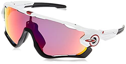 Oakley Jawbreaker Oo9290 929005, Gafas de Sol para Hombre, Blanco, 31