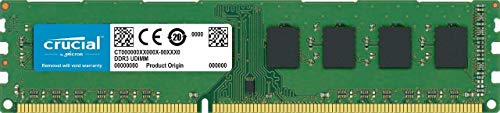 Crucial CT102464BD160B - Memoria RAM de 8 GB (DDR3L, 1600 MT/s, PC3L-12800, DIMM, 240-Pin)
