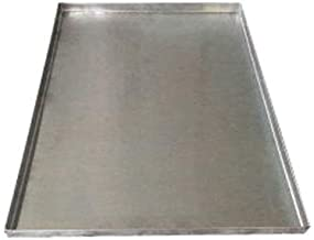 Replacement Tray For Dog Crate Chew-Proof and Crack-Proof Metal Pan for Dog Crates Galvanized 35 3/8 x 21 7/8 x1