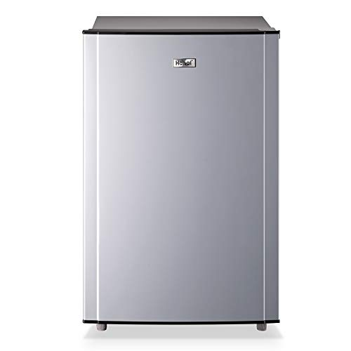 WANAI 30 Cuft Upright Freezer with Compact Single Door Removable Shelves Free Standing Mini Freezer with Adjustable Thermostat for Home Kitchen or Office