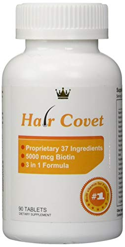 Hair Covet Hair Growth Supplement for Women (90 Tablets)
