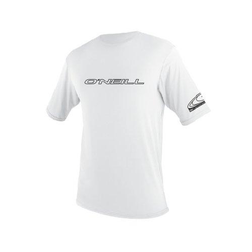 Oneill Basic Skins SS Rashguard - Camiseta (Talla L), Color Blanco
